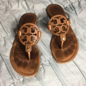 Leather Tory Burch Miller Sandals